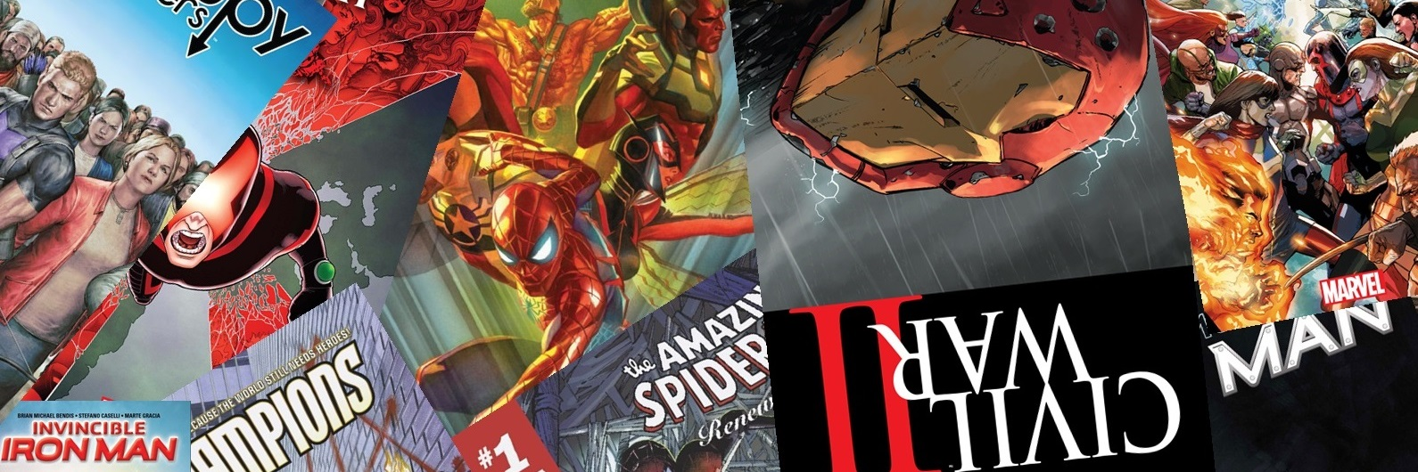 VIDEO Nuevas colecciones Marvel post Civil War II