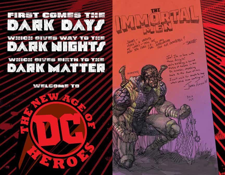 NOTICIA Nueva Linea de DC: Dark Matter