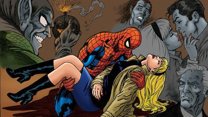RESEÑA Marvel Gold. El Asombroso Spiderman 6: La muerte de Gwen Stacy -  Tomos y Grapas